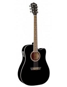 Guitarra Electro Acustica WA90CEBK Washburn