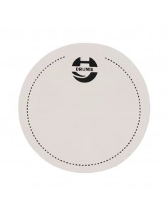 Falam Simple Para Bombo FS1 blanco Musicparts