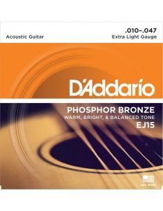 Encordado Guitarra Acustica EJ15 D´addario